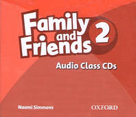 Аудио диск Family and Friends 2 Class Audio CDs