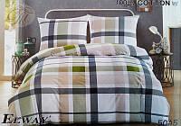 Комплект постельного белья полуторный  Elway 5045cатин