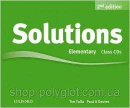 Solutions 2nd Edition Elementary Class Audio CDs (3)