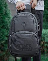 Рюкзак черный городской / молодежный  мужской / женский Titan x black ТОП качество