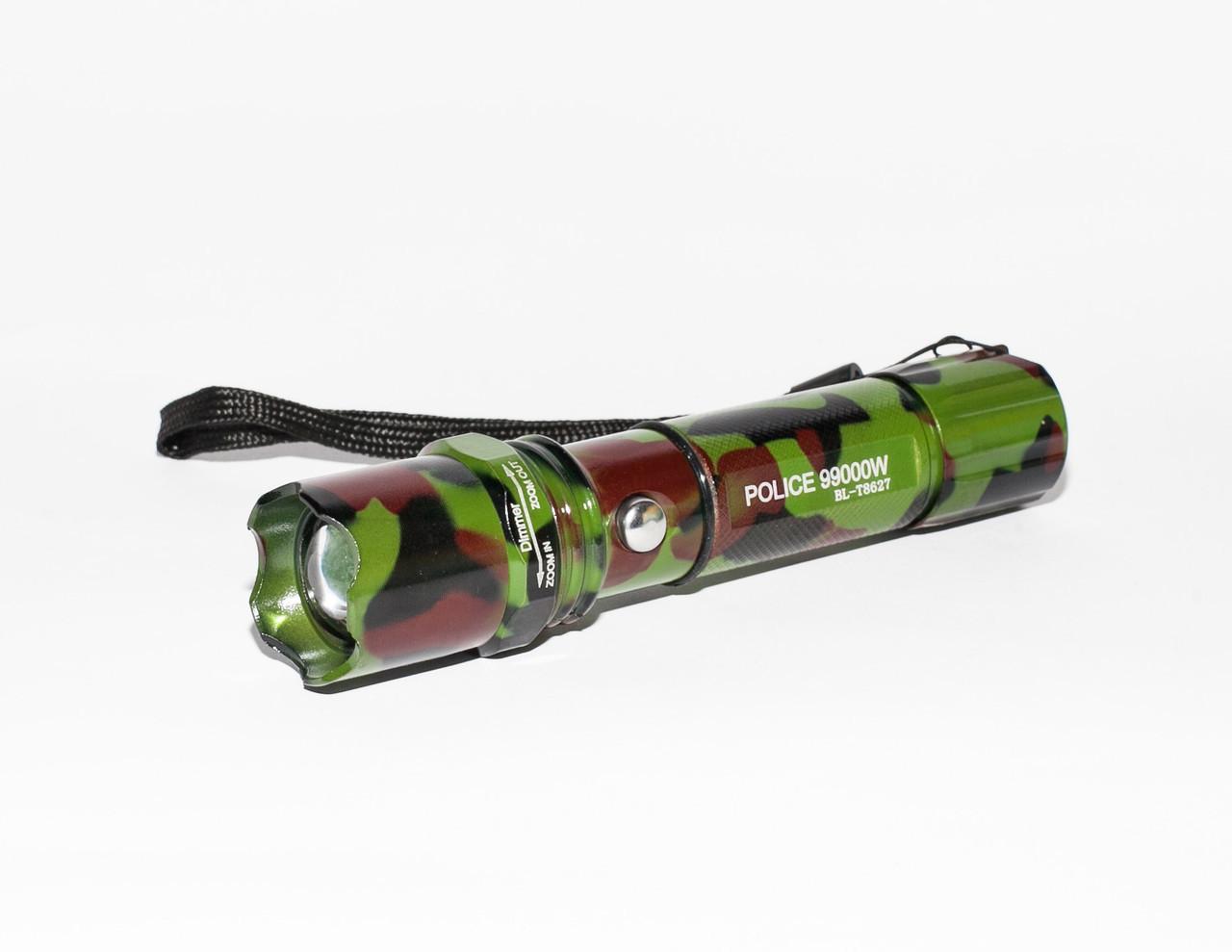 Ручной мощный фонарик с регулировкой фокуса BL-T8627 | Ліхтарик