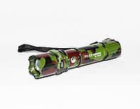 Ручной мощный фонарик с регулировкой фокуса BL-T8627 | Ліхтарик, фото 1