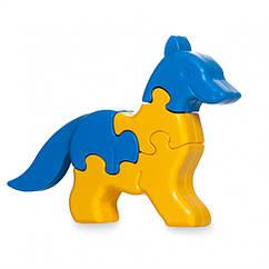 Игрушка развивающая: 3D пазлы Животные 39385 (Лис)