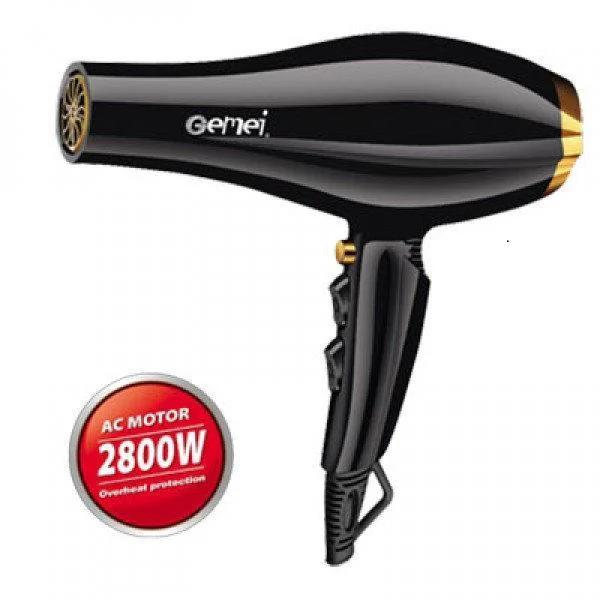Фен для волос GEMEI GM-1765 2.8 кВт (Реплика)
