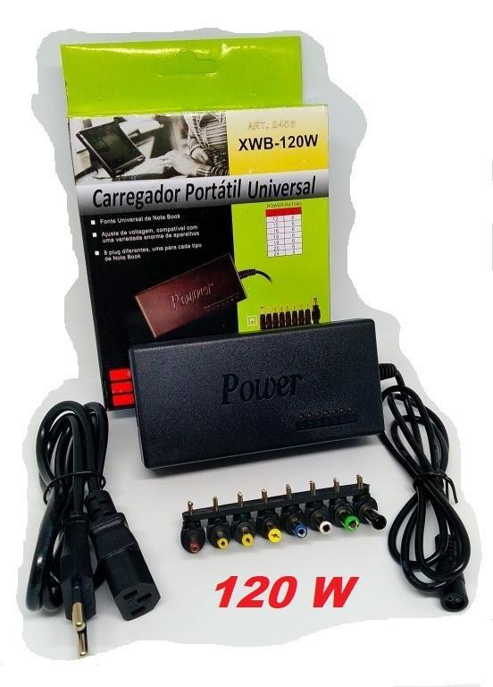 Универсальное зарядное устройство для ноутбука | Адаптер питания Laptop 120W