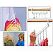 Универсальная Складная чудо вешалка для экономии места Wonder Hanger MAX С Набор из 8 шт., фото 6