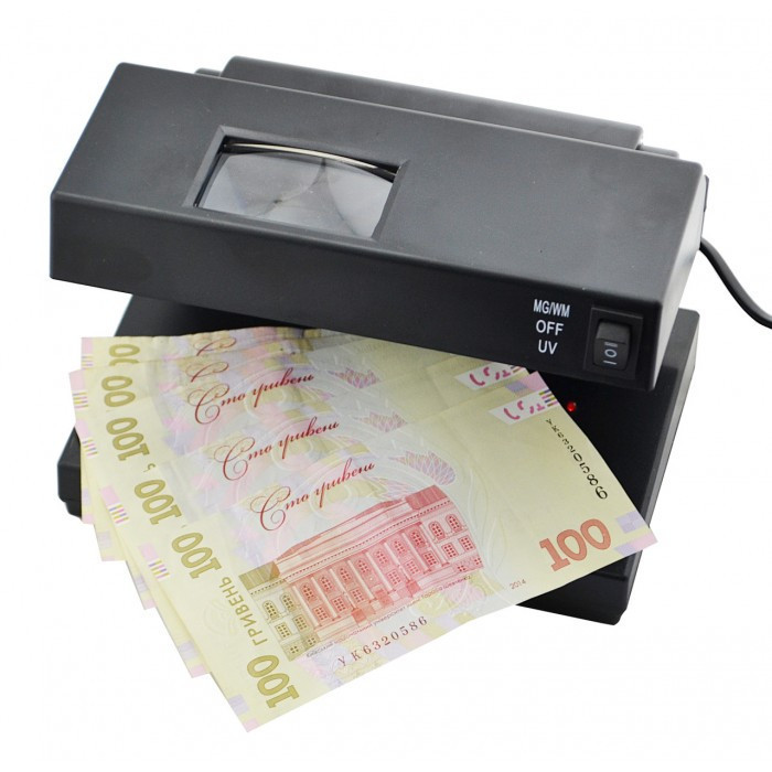 Ультрафиолетовый детектор валют  UKC AD-2138