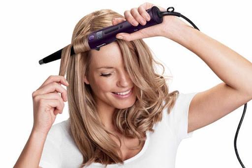 Конусная плойка для завивки волос Domotec MS-4907