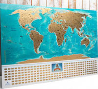 Скретч карта мира My Map Flags edition (рус)