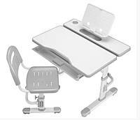 Комплект Cubby парта трансформер и стульчик Botero Grey для школы и дома