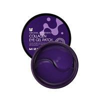 Гидрогелевые патчи для глаз с морским коллагеном Mizon Collagen Eye Gel Patch 60 шт Корея