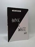 Эксмо INSPIRATION Black&White Note Стильный блокнот с черными и белоснежными страницами (мягкая обло