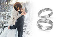 Зимова весілля: вибираємо срібні обручки