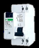 Дифф автомат FAP6-AC 2p 10A 30mA Promfactor