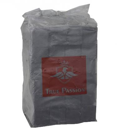 Уголь для кальяна кокосовый True Passion в целофане 1кг, фото 2