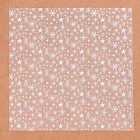 Ацетатный лист для скрапбукинга «Снежная пора», 15,5 × 15,5 см, 25 мкм