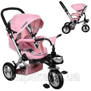 Велосипед трехколесный Bambi M AL3645A-10 Розовый