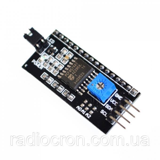 I2C модуль LCD дисплея 1602, 2004 на PCF8574AT, Arduino