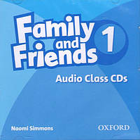 Аудио диск Family and Friends 1 Audio Class CDs