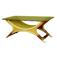 """Стол """"Ниагара"""". Плетеная мебель из ротанга."""