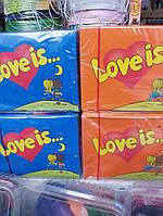 Жвачки Love is  100 шт, фото 1