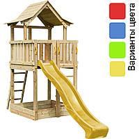 Детская игровая площадка KBT Blue Rabbit PAGODA домик с горкой (дитячий ігровий майданчик, будиночок з гіркою)