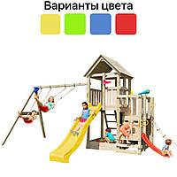 Дитячий ігровий майданчик Blue Rabbit PENTHOUSE + гойдалки SWING для дітей, фото 1