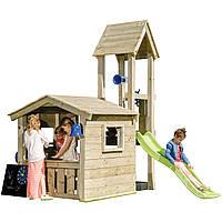 Дитяча ігрова вежа з будиночком KBT Blue Rabbit LOOKOUT майданчик для дітей, фото 1