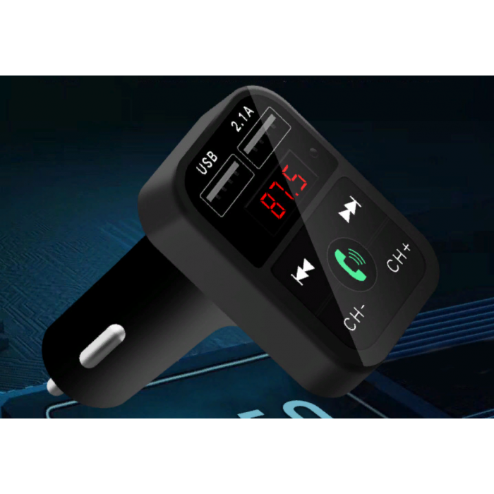 B2 Bluetooth автомобільний MP3-плеєр USB MIcro SD 2.1 A