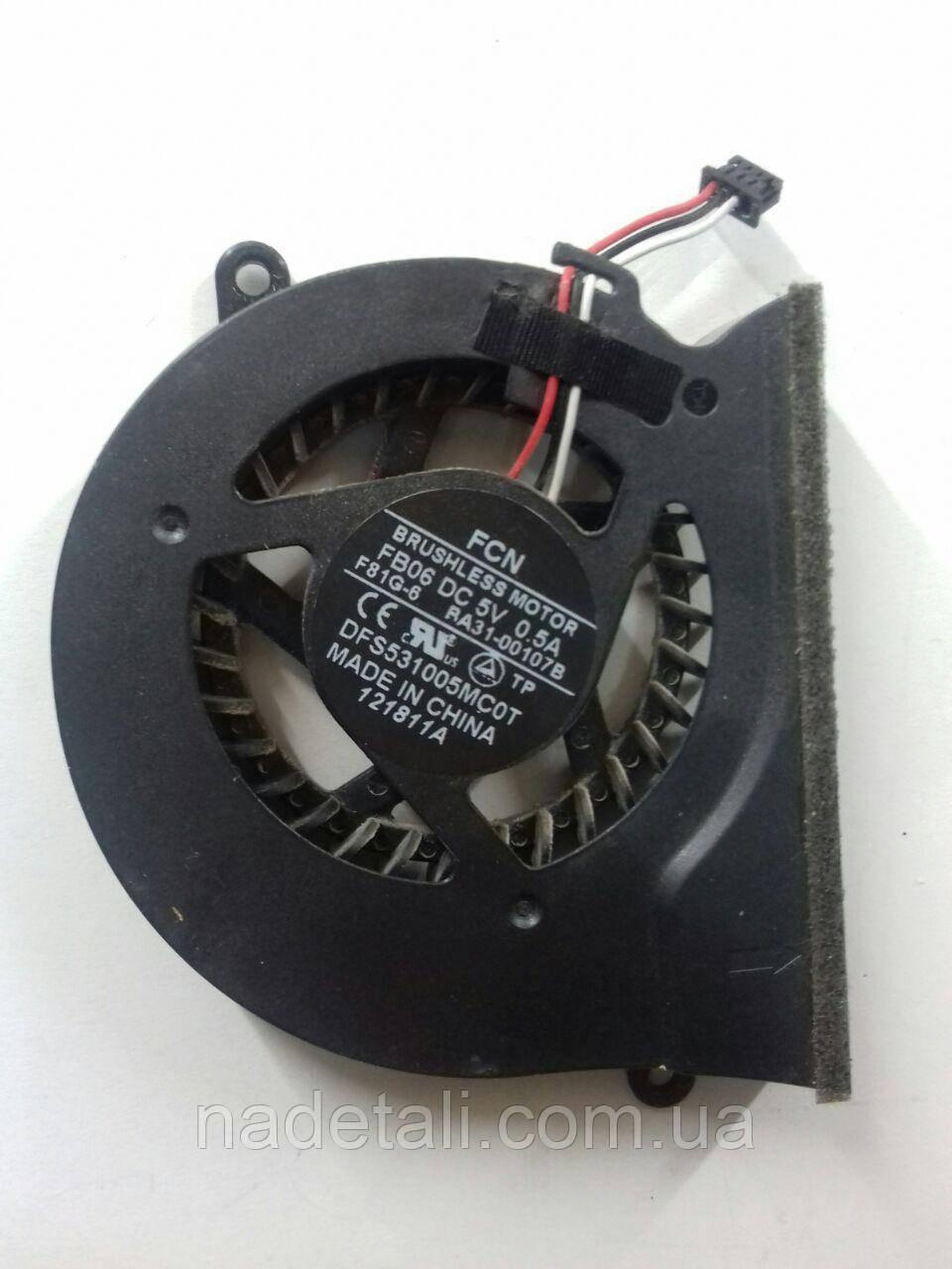 Система охлаждения (кулер) Samsung NP305E5Z BA31-00107B 4pin