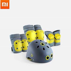 Защитный набор Xiaomi Xunkids,шлем,наколенники,налокотники