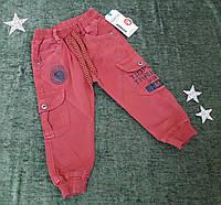 Подростковые трикотажные штаны на 1-4 года