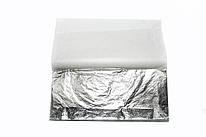 Поталь свободная серебро имитация в листах 16х16 см 10 листов Nazionale, 9715001