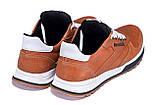 Мужские кожаные кроссовки  Reebok Classic brown, фото 6