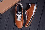 Мужские кожаные кроссовки  Reebok Classic brown, фото 10