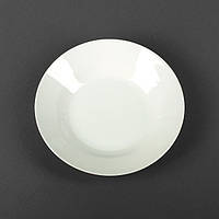 Тарелка белая фарфоровая глубокая  200мм (арт. 4403)