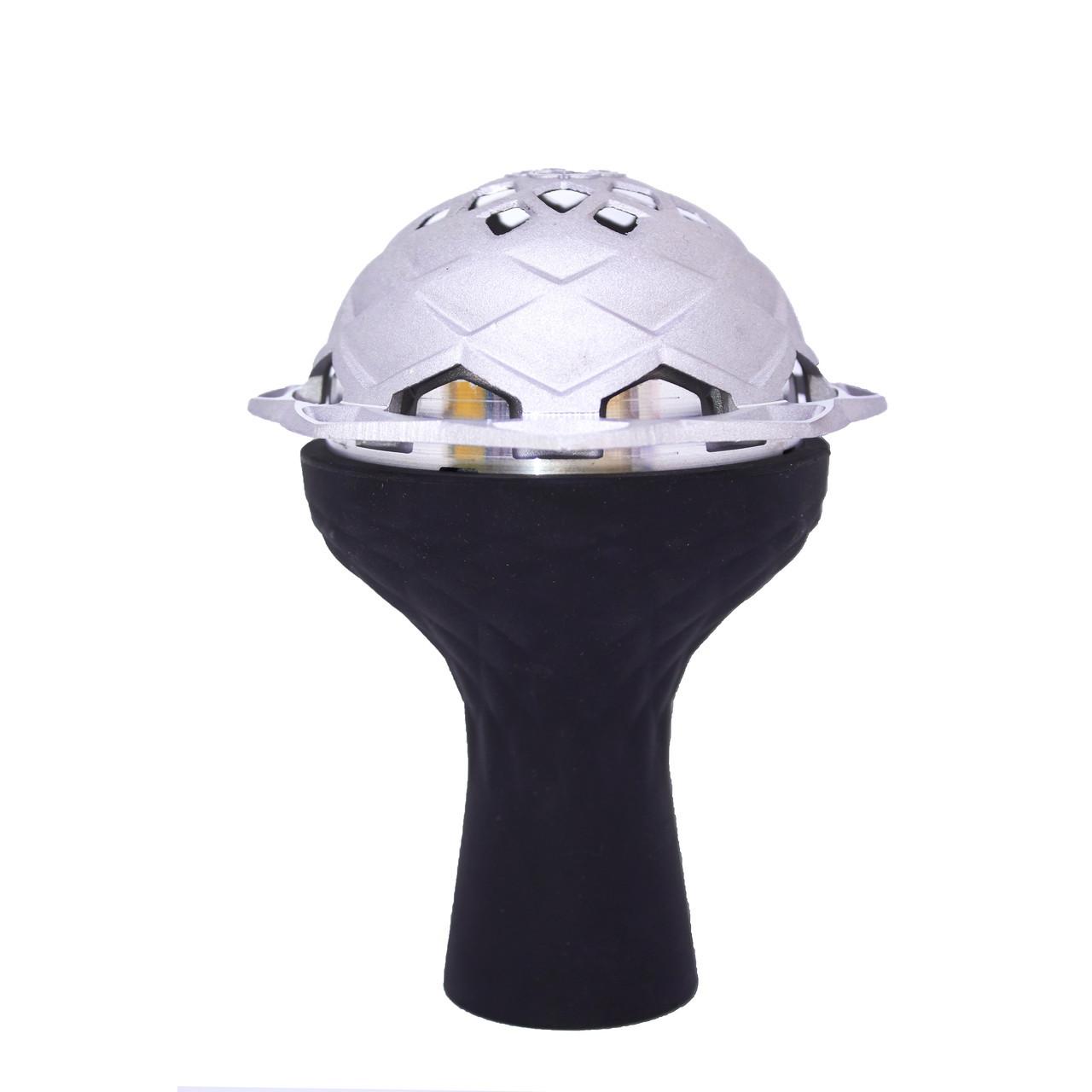 Комплект чаша силиконовая 3 камеры черная+калауд 2