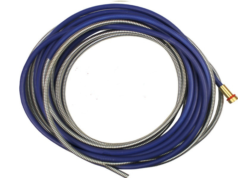 Направляющий канал (боуден) синий длина 3,2 м. (0,8-1,0)