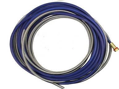 Направляючий канал (боуден) синій довжина 3,2 м. (0,8-1,0)