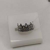 Срібна каблучка корона 925 проби