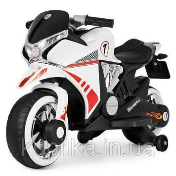 Мотоцикл Bambi M 3682L-1 Белый