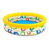 Басейн дитячий Intex надувний Геометрія Intex 59419