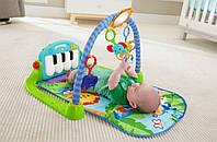 Развивающий зеленый коврик Piano Fitness Rackhe, фото 1