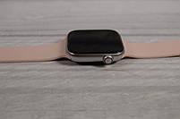 Умныечасы Smart Watch W4 сенсорные розовые(смарт часы, фитнес-браслет спортивный), фото 3
