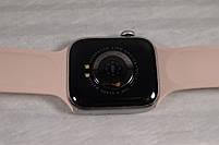 Умныечасы Smart Watch W4 сенсорные розовые(смарт часы, фитнес-браслет спортивный), фото 4