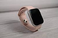 Умныечасы Smart Watch W4 сенсорные розовые(смарт часы, фитнес-браслет спортивный), фото 7