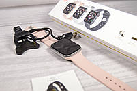 Умныечасы Smart Watch W4 сенсорные розовые(смарт часы, фитнес-браслет спортивный), фото 8
