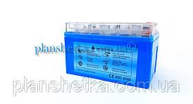 Аккумулятор для мотоцикла гелевый 12 В 7Аh синий GEL, фото 3