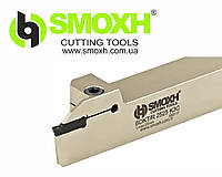 Резец  2525 BDKT K4C t max:40 токарный канавочный - отрезной SMOXH с мех. креплением пластин
