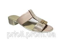 Женские сабо кожаные оптом и в розницу на каблуке